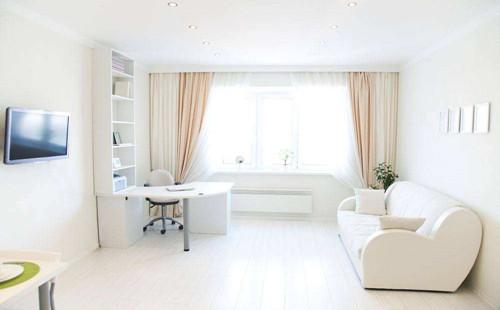 白色木地板如何与家具搭配更美