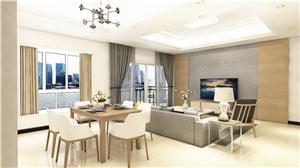 恒顺阁现代简约三房两厅140 m²