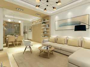 珠海现代简约三房两厅两卫一厨112m²