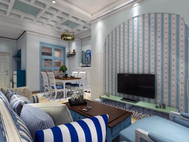 海蓝海蓝的地中海风格,唤醒了我沉睡的艺术细胞!