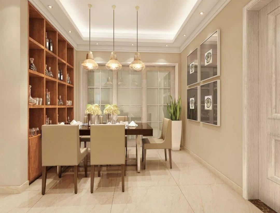 进门就是客厅和餐厅的房型,怎样设计玄关?