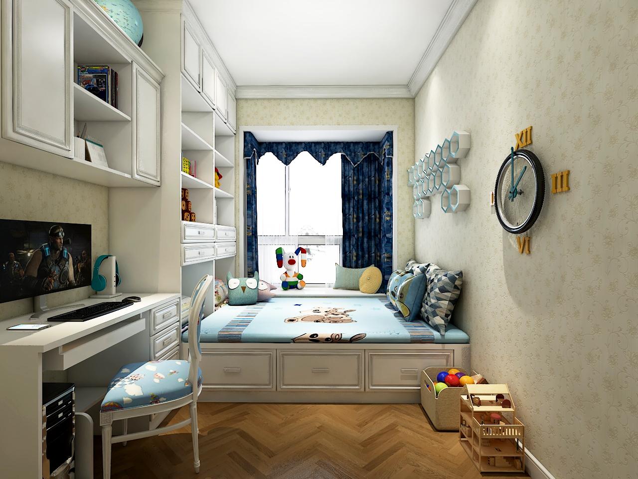 次卧 SECOND BEDROOM